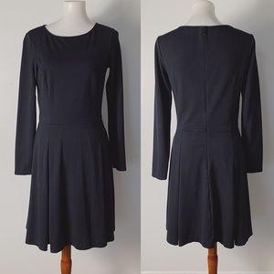 THEORY Franzis Ponte Fit & Flare Dress